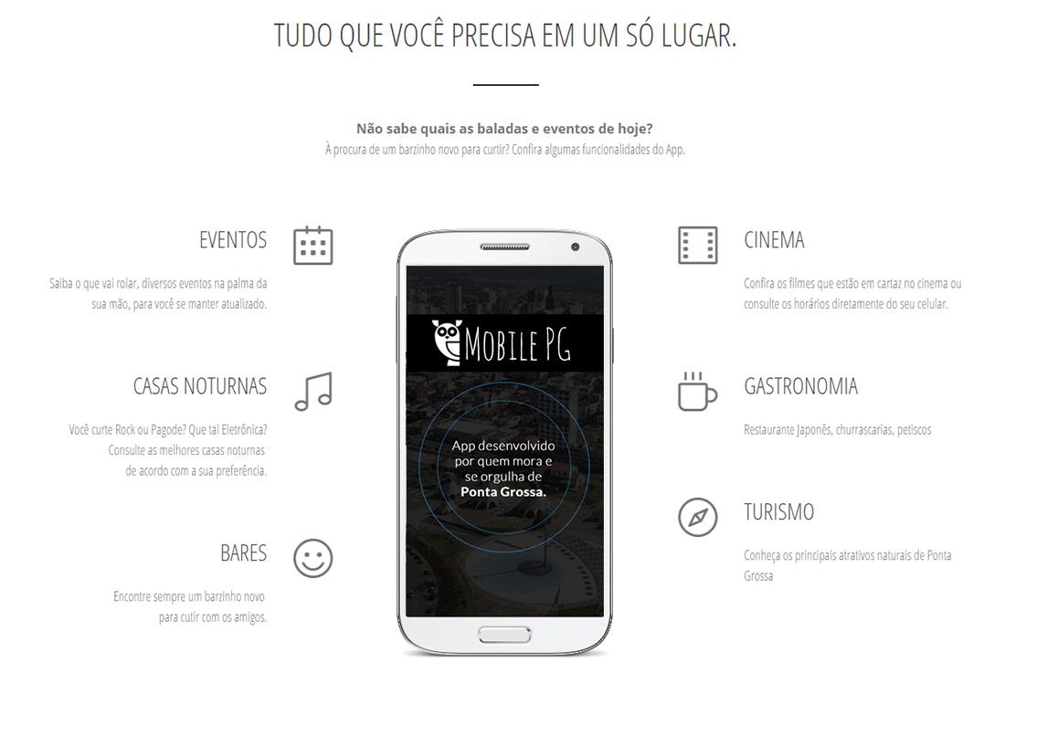 Aplicativo MobilePG